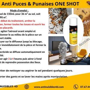 Anti Puces de Lit one shot DIGRAIN