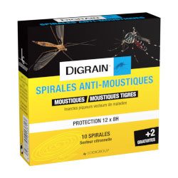 Anti moustiques Spirales