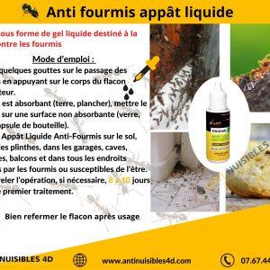 Anti Fourmis Appât Liquide fourmis