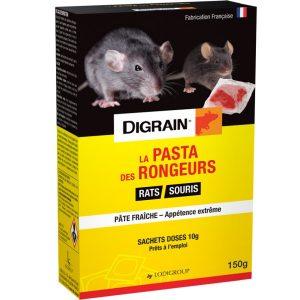 Anti Rats La pasta anti rongeurs Pâte fraîche